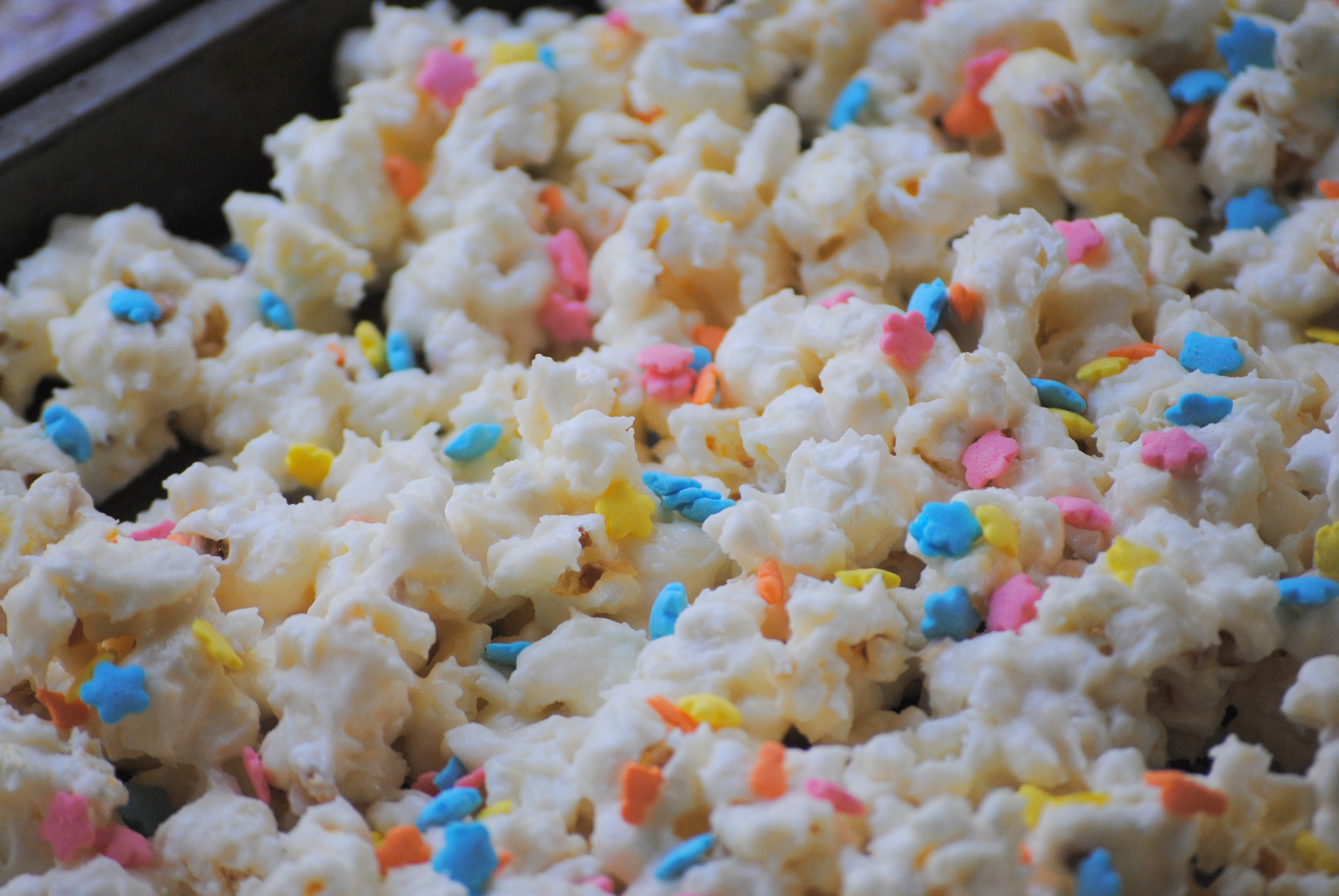 Birthday Cake Batter Popcorn Floating At Rottnest